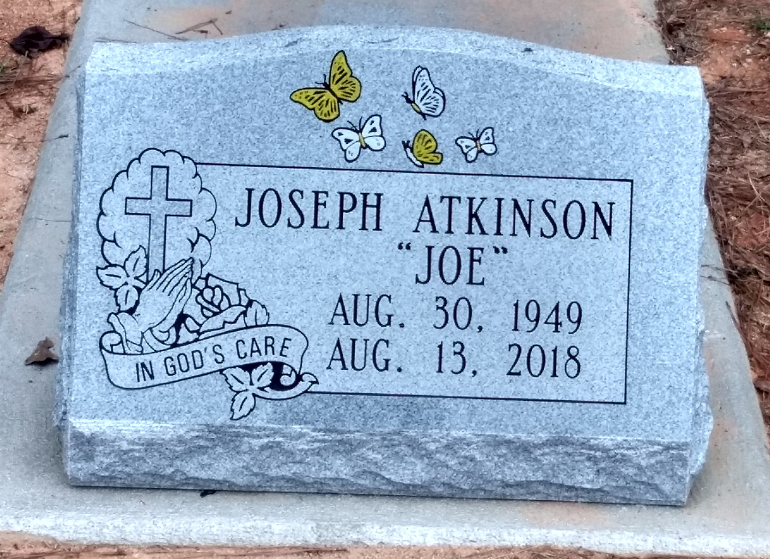 Joseph Atkinson Slant Marker (2)