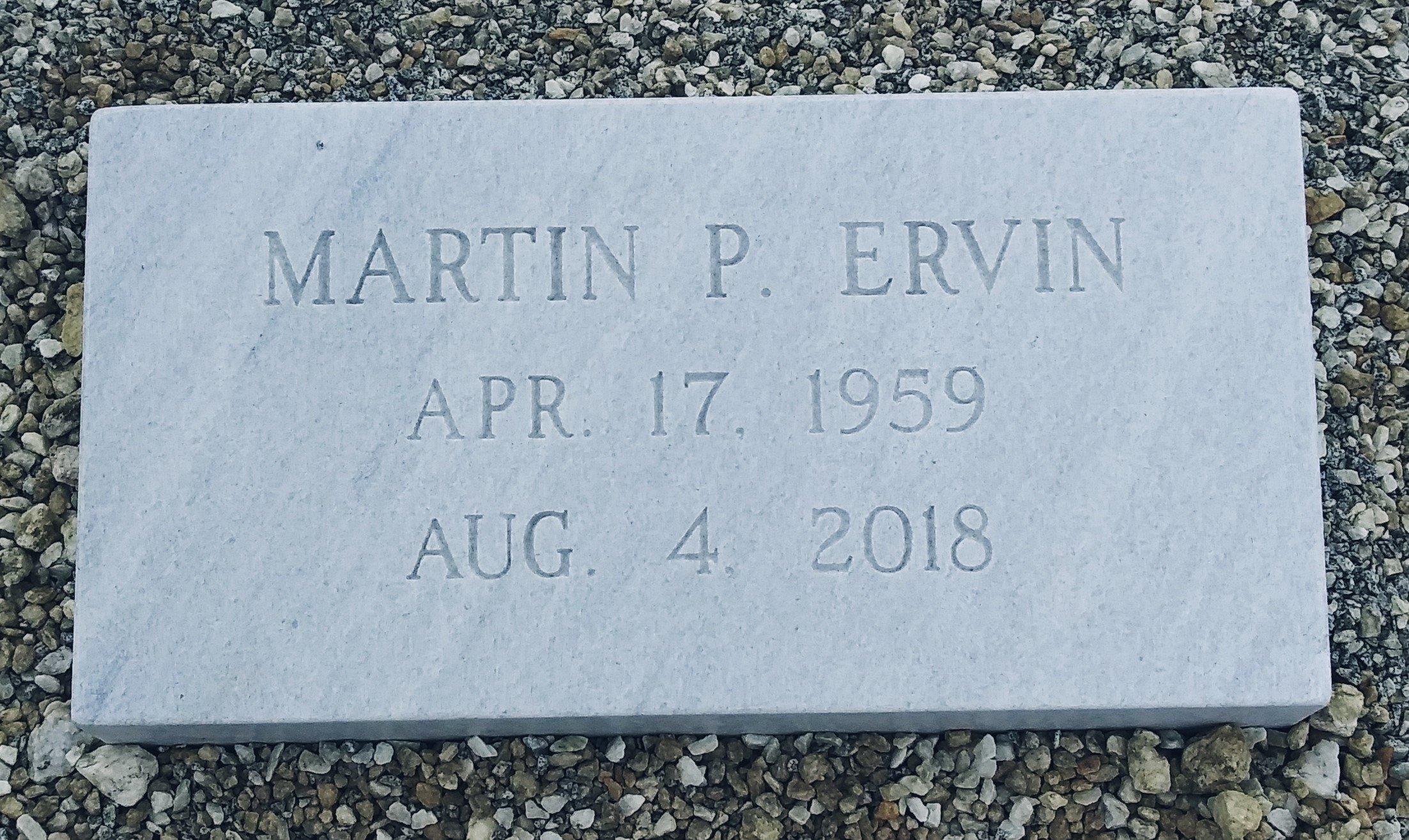 Marvin Ervin Marble Marker (2)